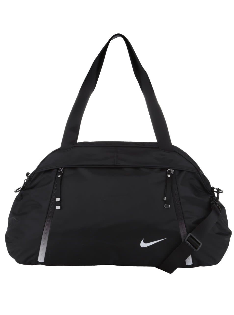 Černá unisex cestovní taška Nike Auralux Club