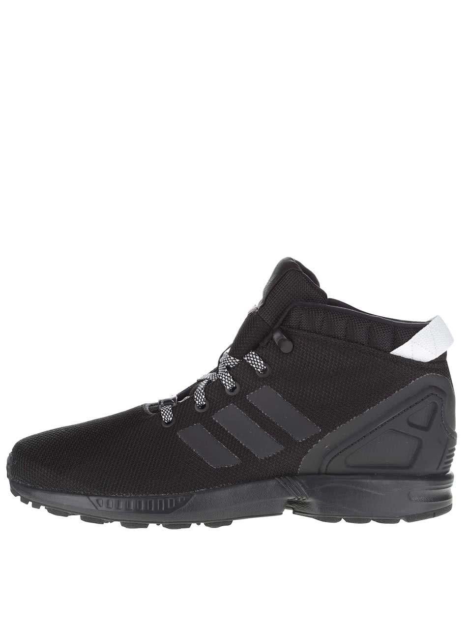 Černé pánské kotníkové tenisky adidas Originals ZX Flux 5/8