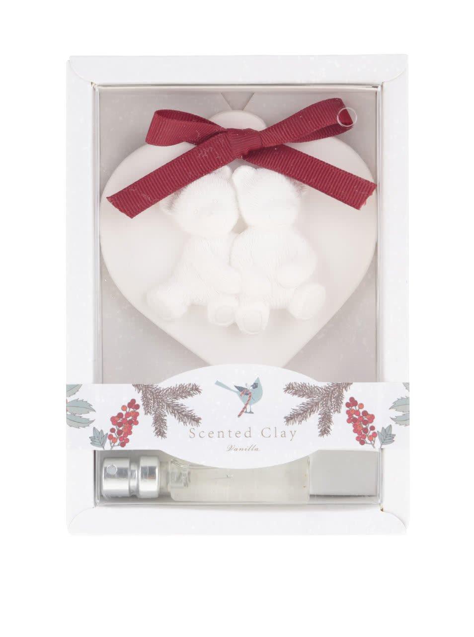 Vonný set ve tvaru srdce s vůní vanilky Dakls