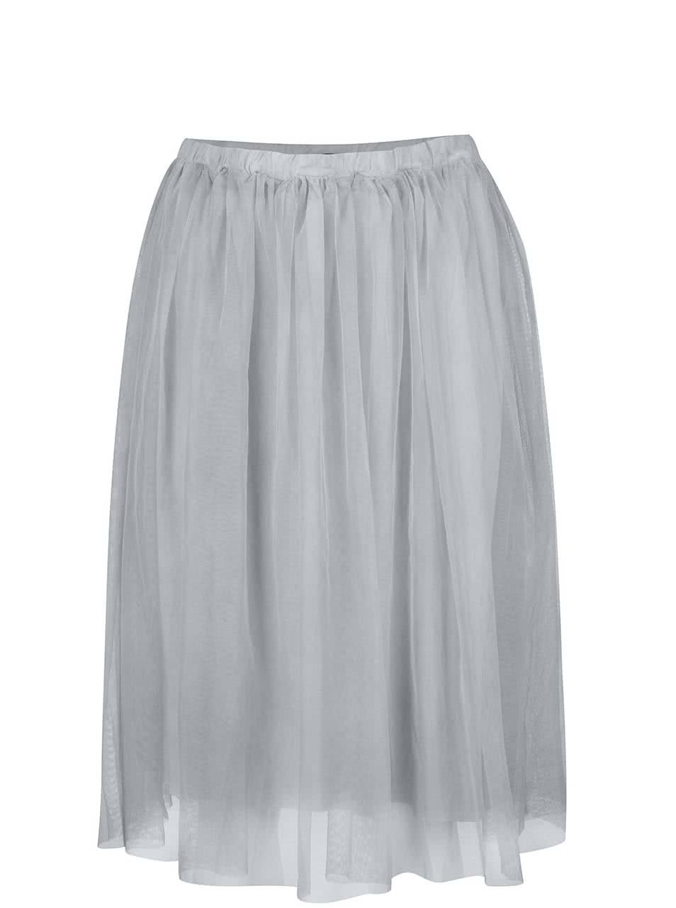 Šedá tylová sukně ZOOT