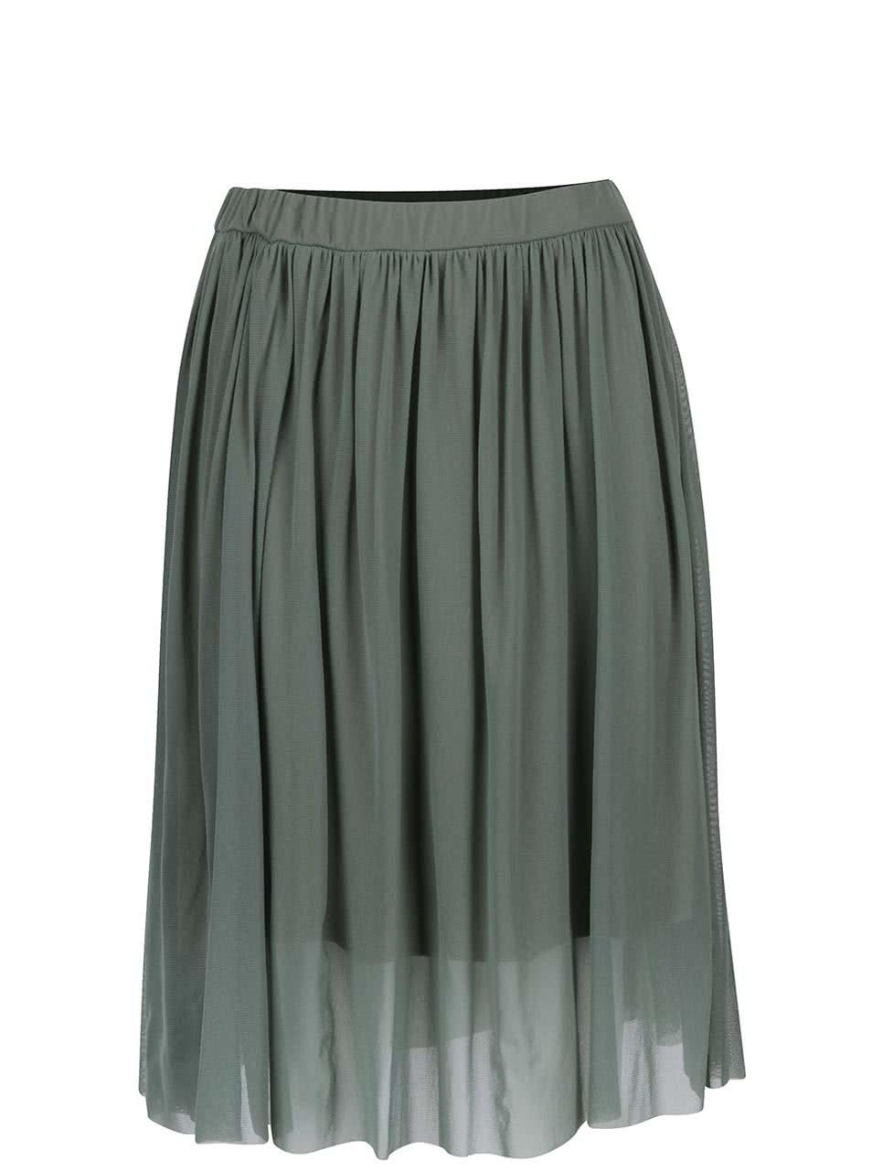 Zelená tylová sukně ZOOT