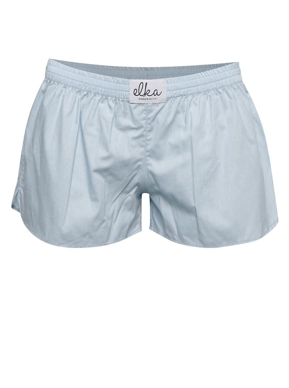 Světle modré dámské trenýrky El.Ka Underwear ŽENY   Spodní prádlo 5eb8033ef3