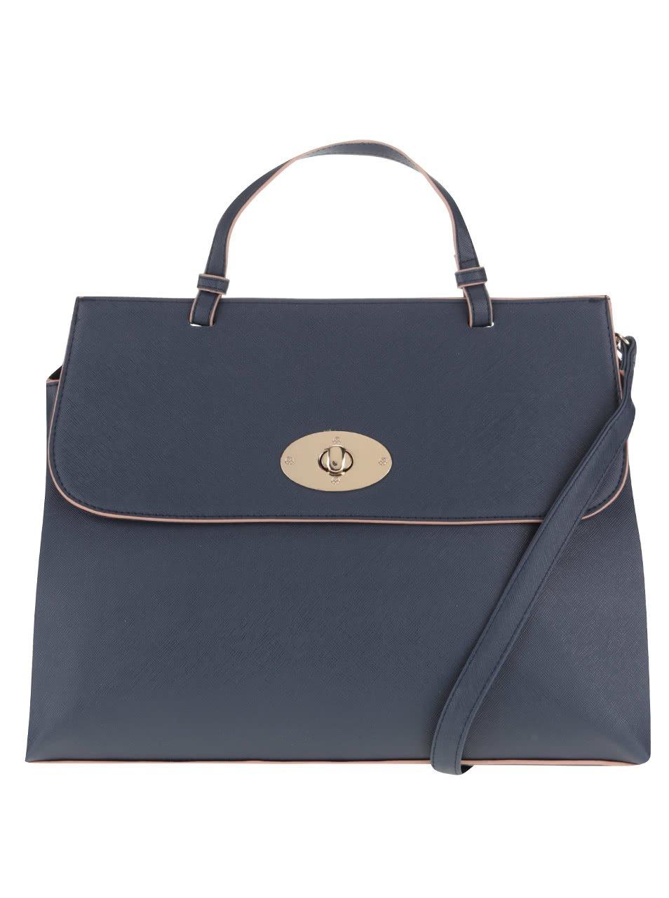 Tmavě modrá kabelka Dorothy Perkins