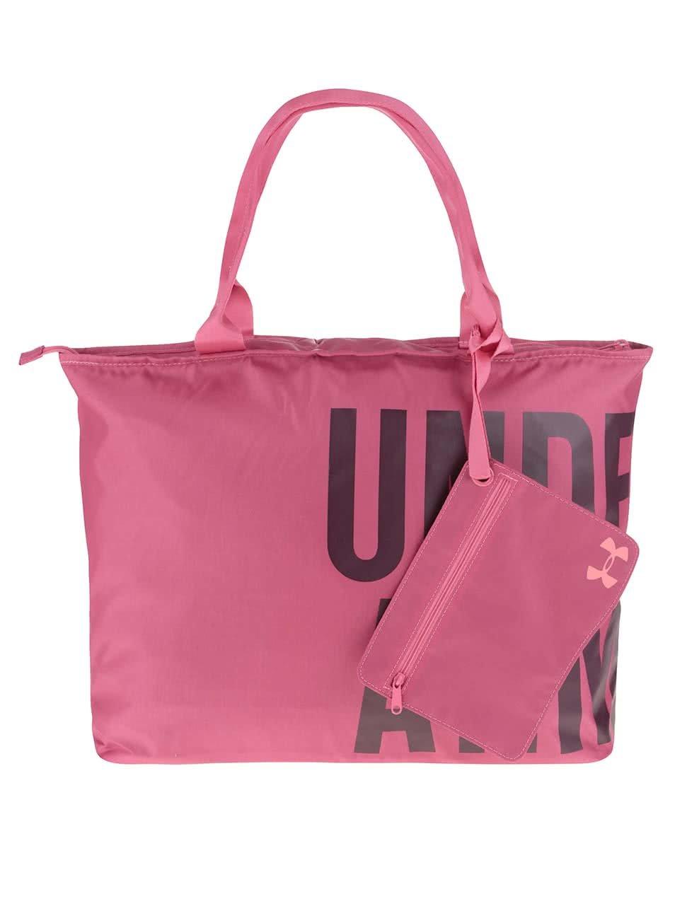 Růžová dámská sportovní taška Under Armour Big World