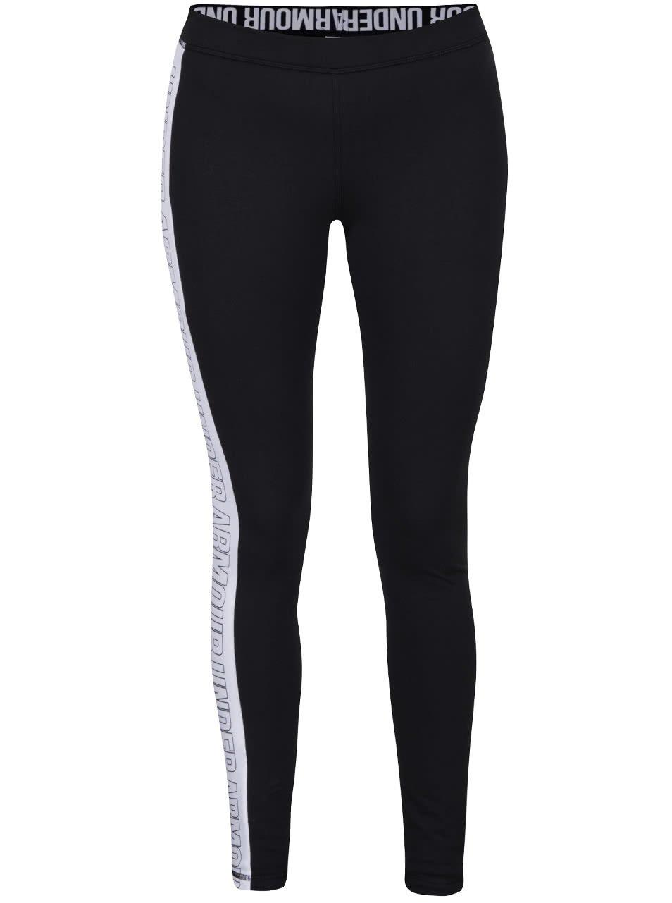 Černé dámské sportovní legíny Under Armour Favorite Legging - Graphic