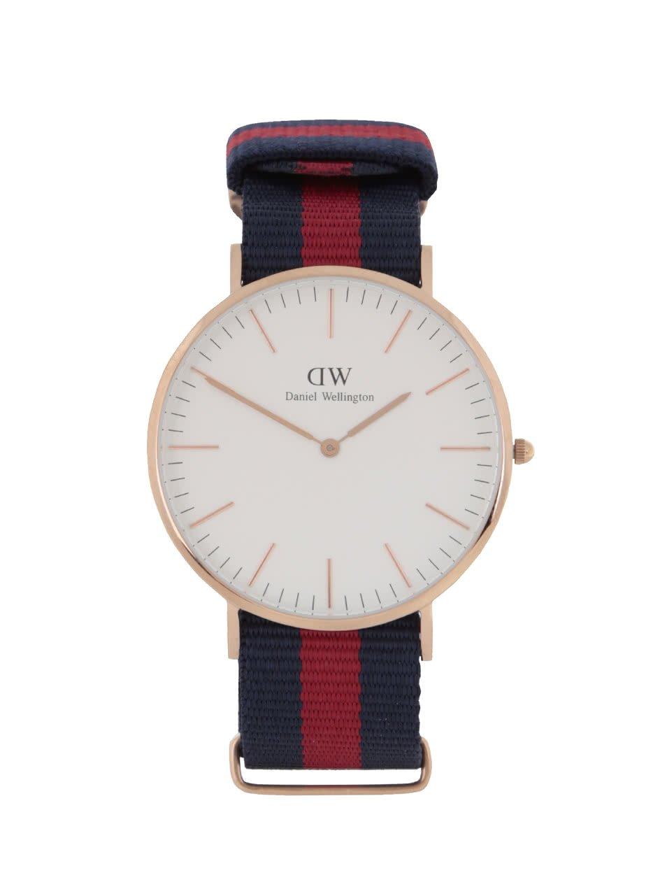 Pánské hodinky ve zlaté barvě CLASSIC Oxford Daniel Wellington