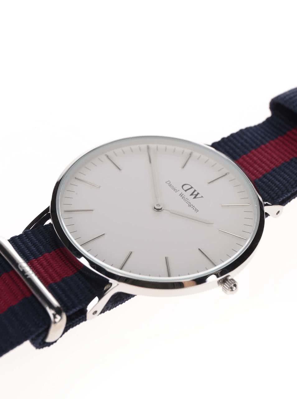 c2b1e69436e ... Pánské hodinky ve stříbrné barvě CLASSIC Oxford Daniel Wellington ...