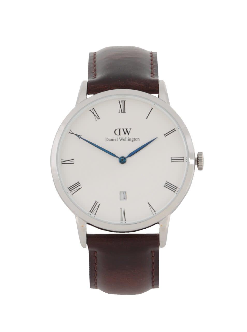 Pánské hodinky ve stříbrné barvě DAPPER Bristol Daniel Wellington