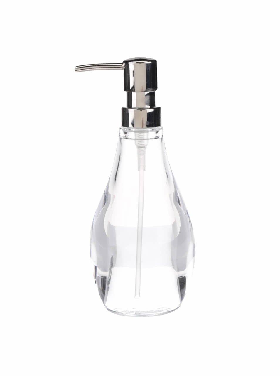Průhledný dávkovač na mýdlo Umbra Droplet