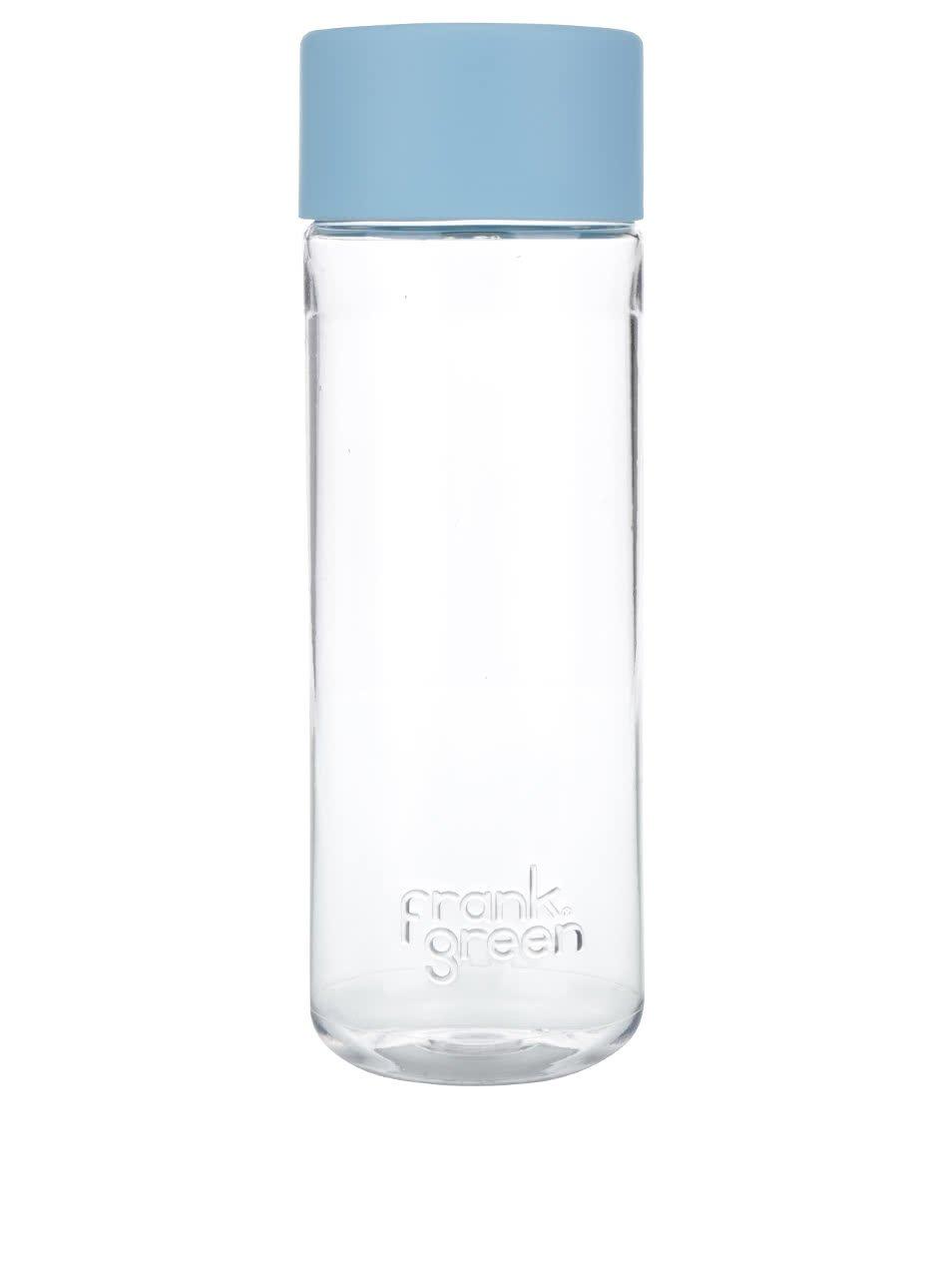 Láhev na vodu SmartBottle se světlem modrým víčkem Frank Green 740 ml