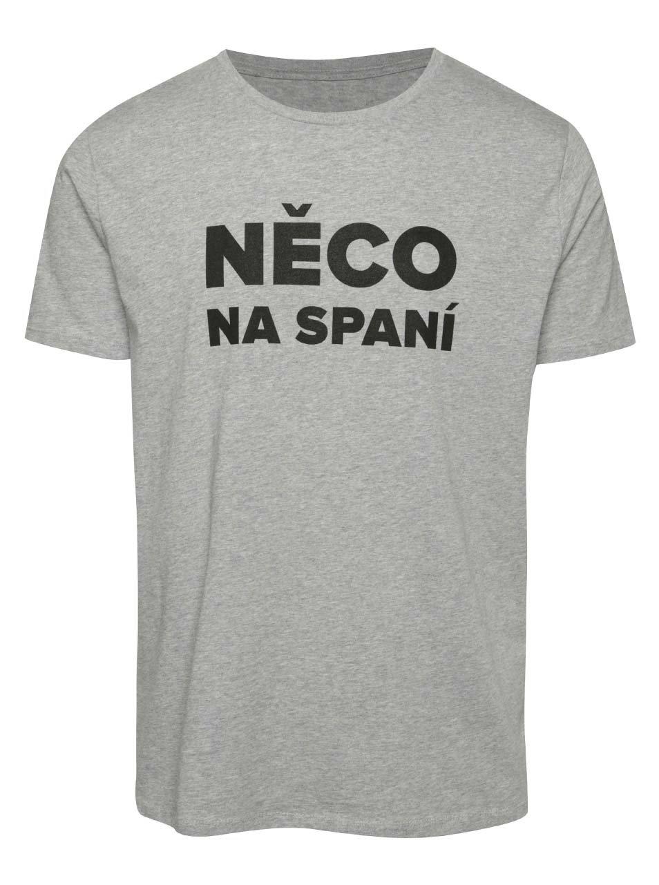Šedé pánské triko ZOOT Originál Něco na spaní