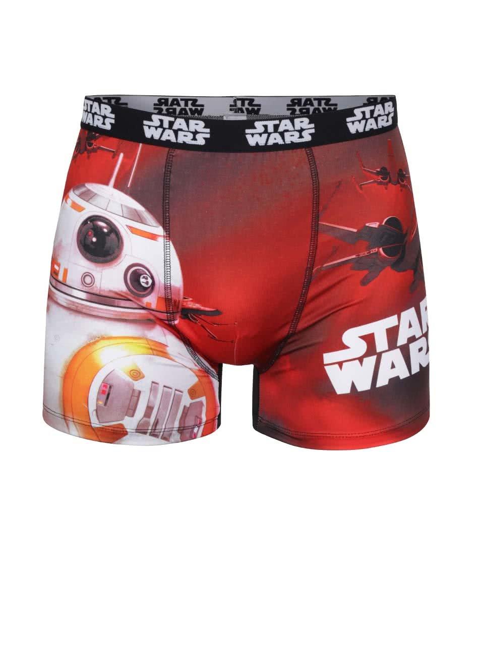 Černo-červené boxerky Star Wars