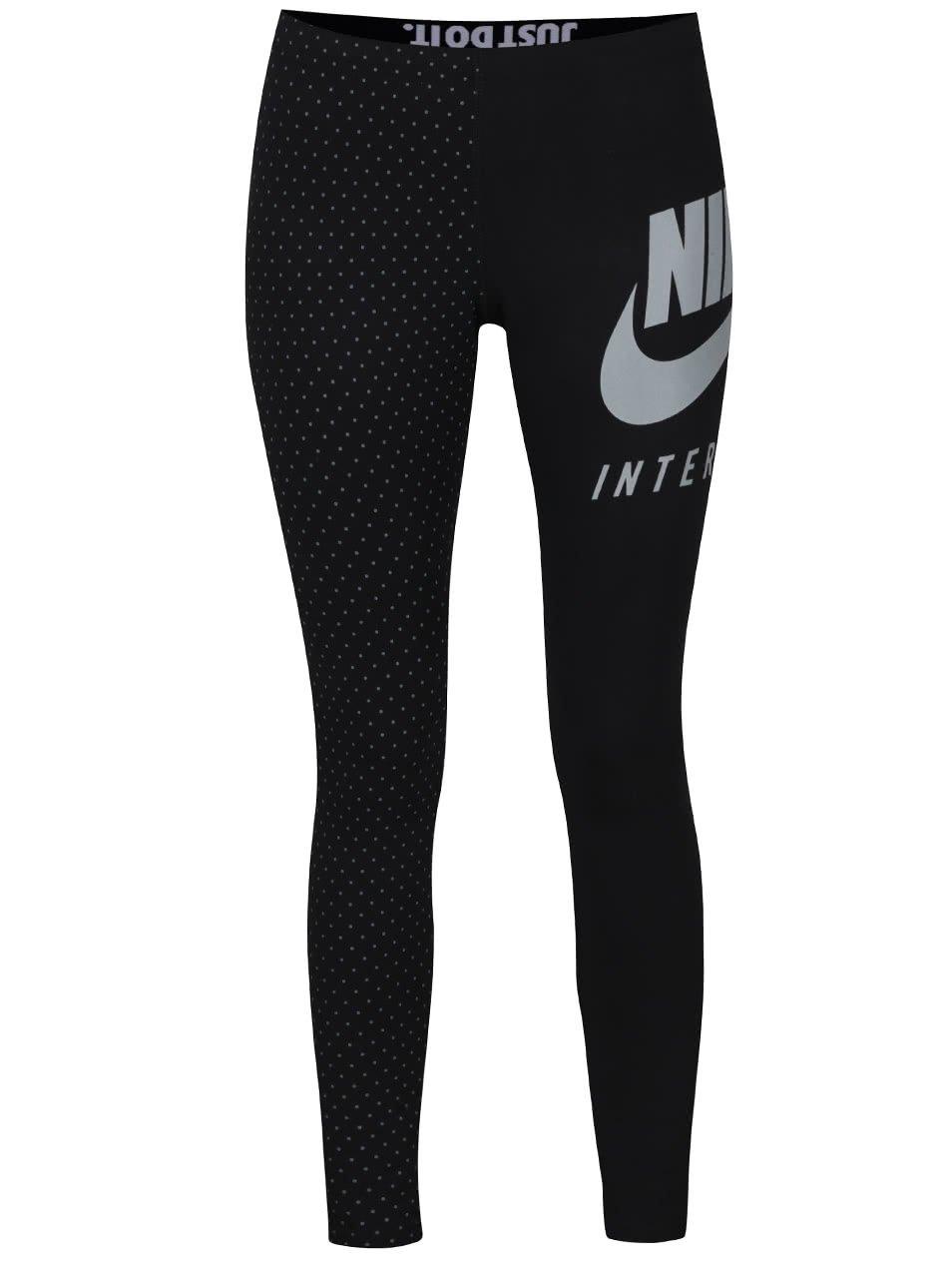 Černé dámské legíny Nike International