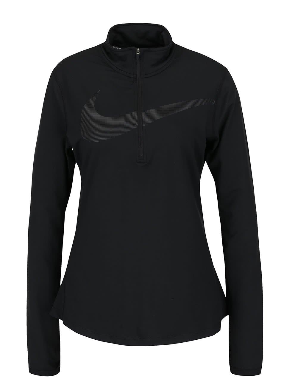 Černá dámská lehká mikina Nike Dry Element