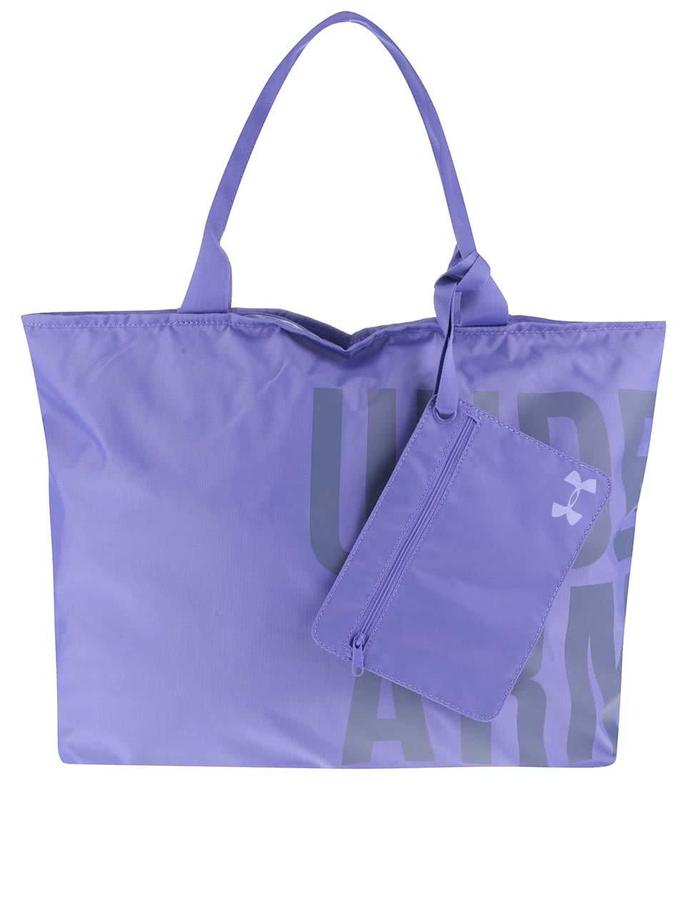 Fialová dámská sportovní taška Under Armour Big World