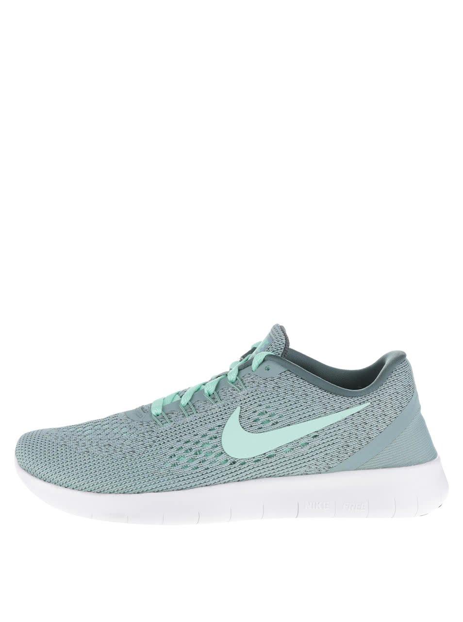 Mentolové dámské tenisky Nike Free