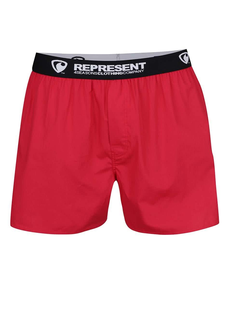 Červené trenýrky Represent Mikebox