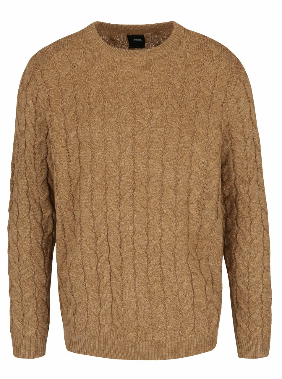 Béžový pletený svetr Burton Menswear London