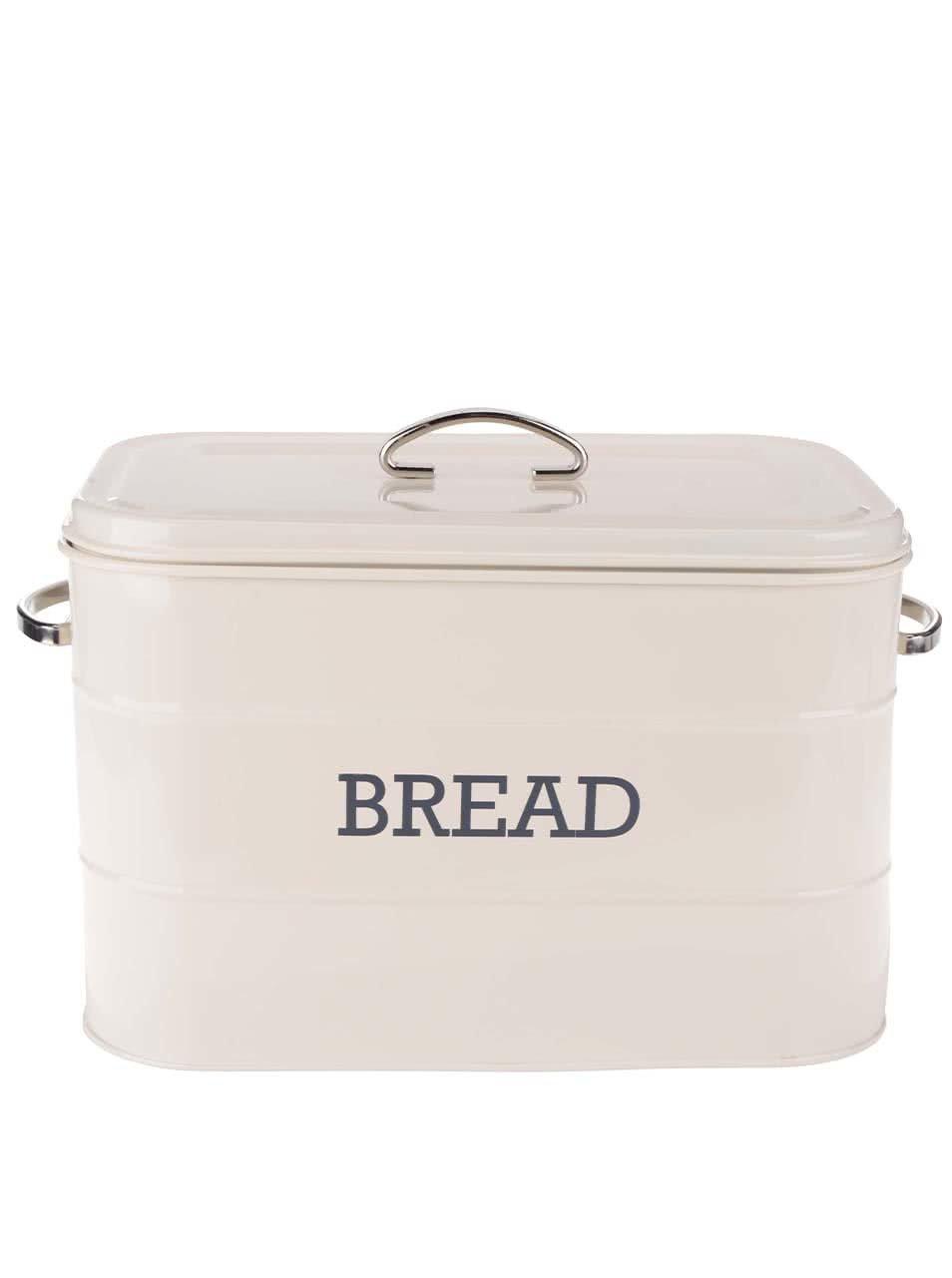 Krémová plechová dóza na chléb Kitchen Craft