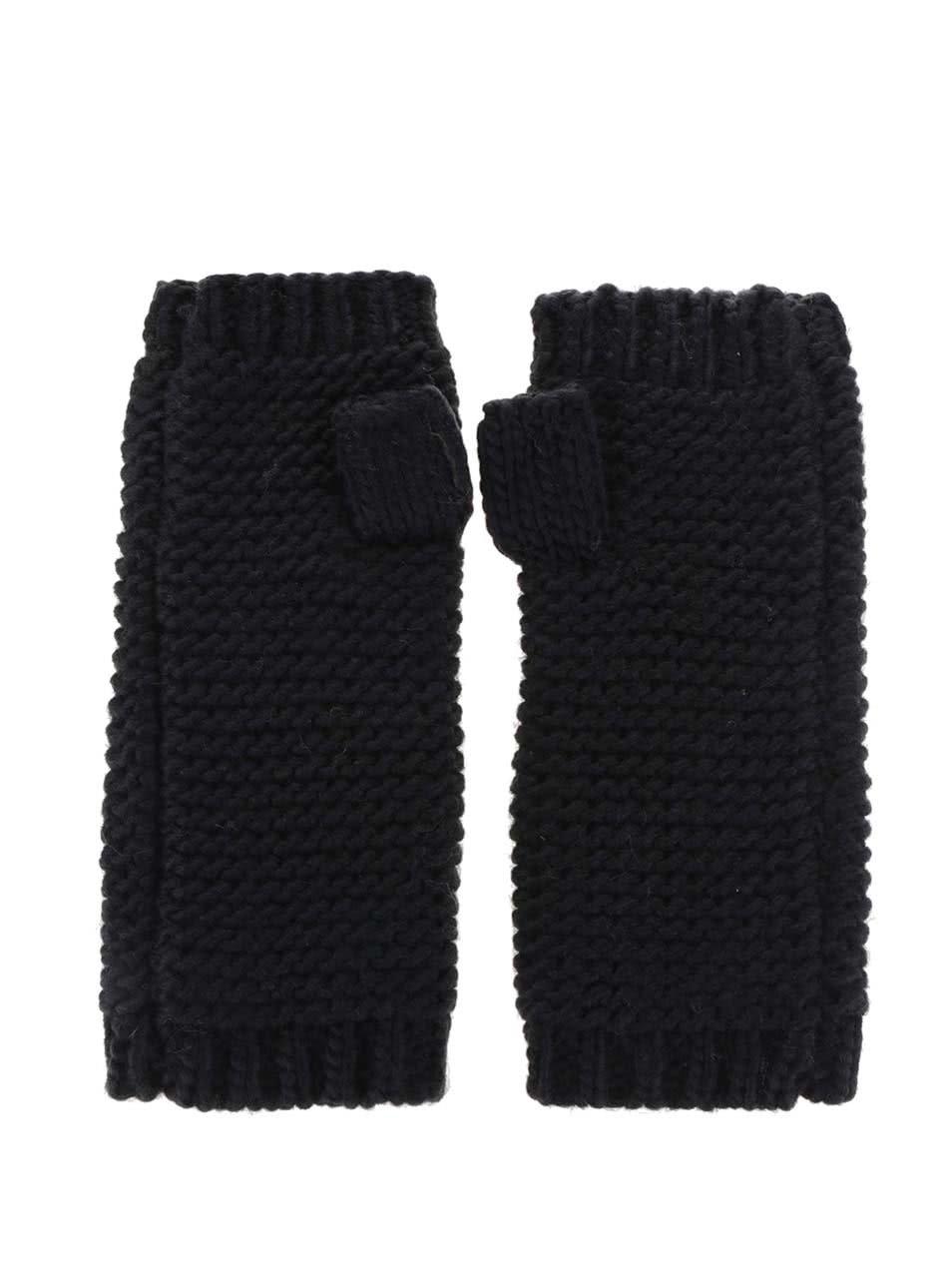 Černé návleky na ruce VILA Craft