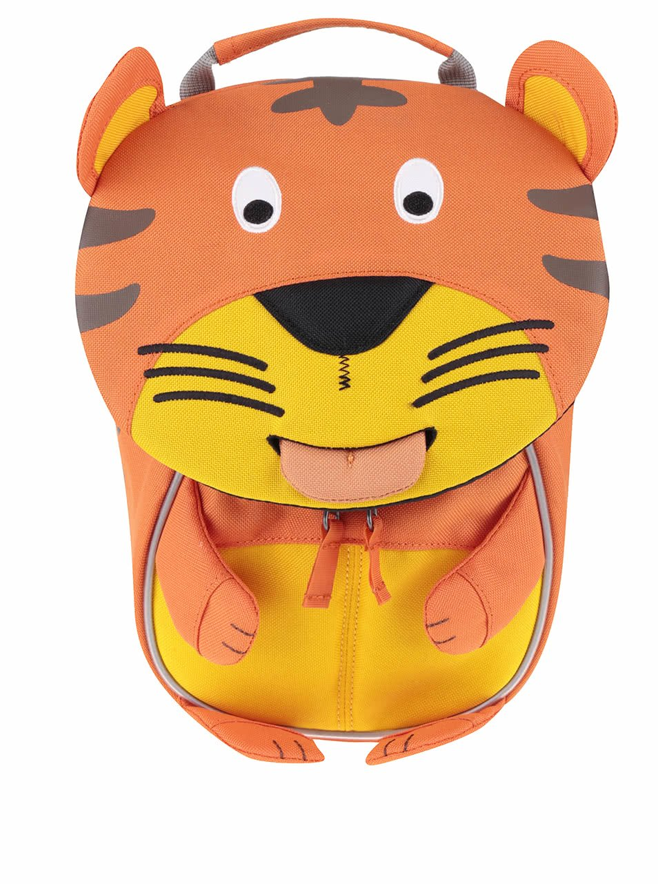 Oranžový batůžek ve tvaru tygra Affenzahn