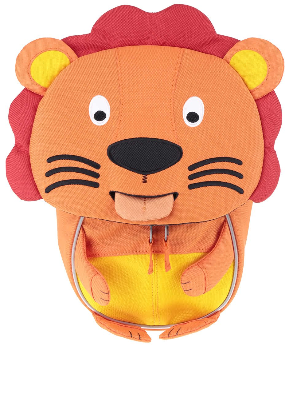 Oranžový batůžek ve tvaru lva Affenzahn