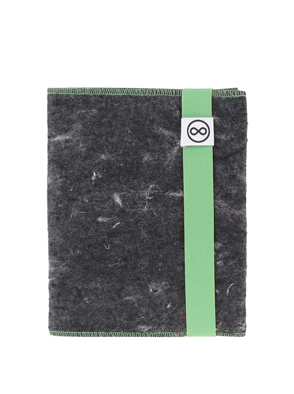 """Dobrý"" zeleno-šedý zápisník FOREWEAR"