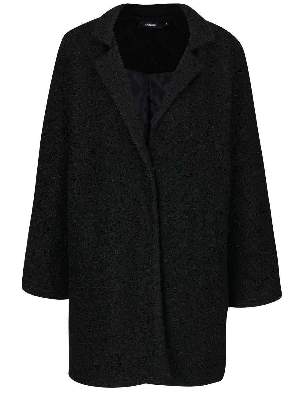 Černý kabát Alchymi Rees