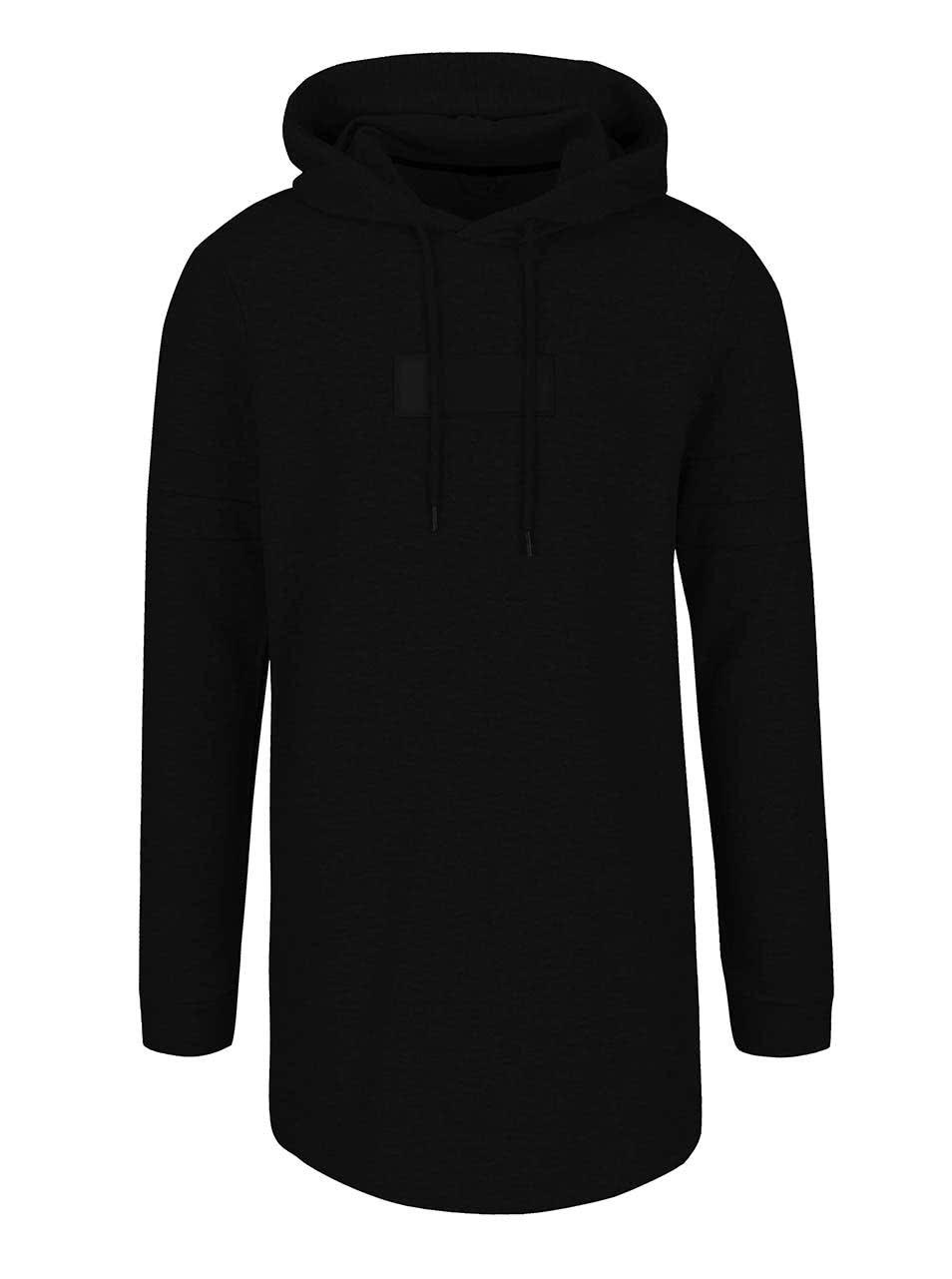 Černá mikina s kapucí Jack & Jones Covera
