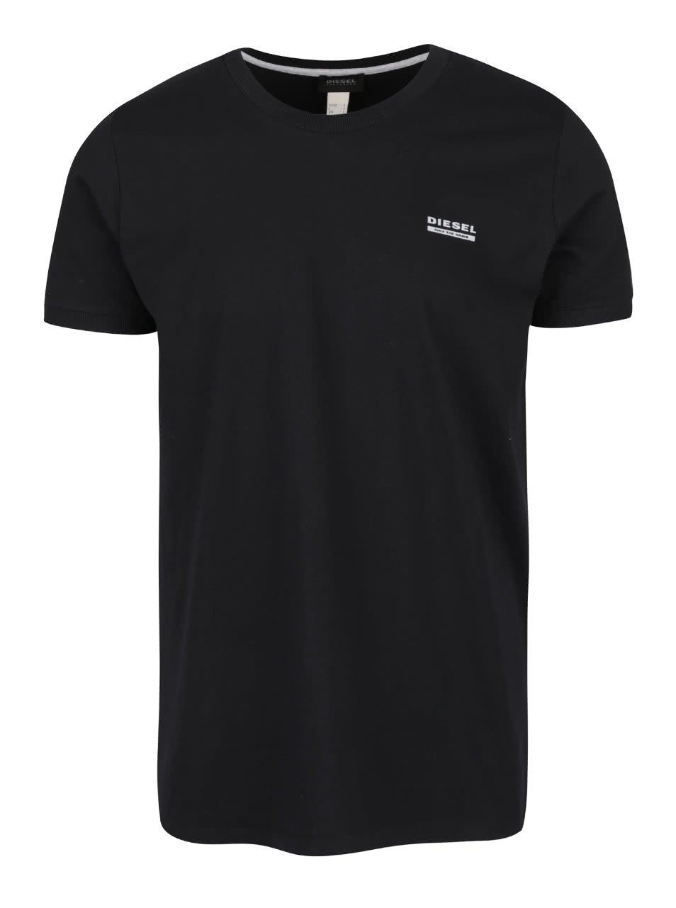 Černé tričko pod košili Diesel