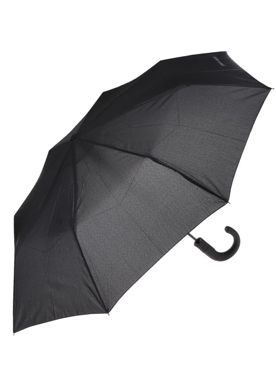 Černý vystřelovací deštník Dice
