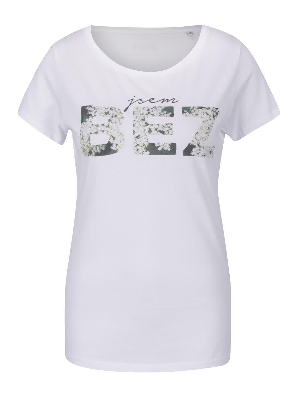 Bílé dámské tričko ZOOT Originál Bez