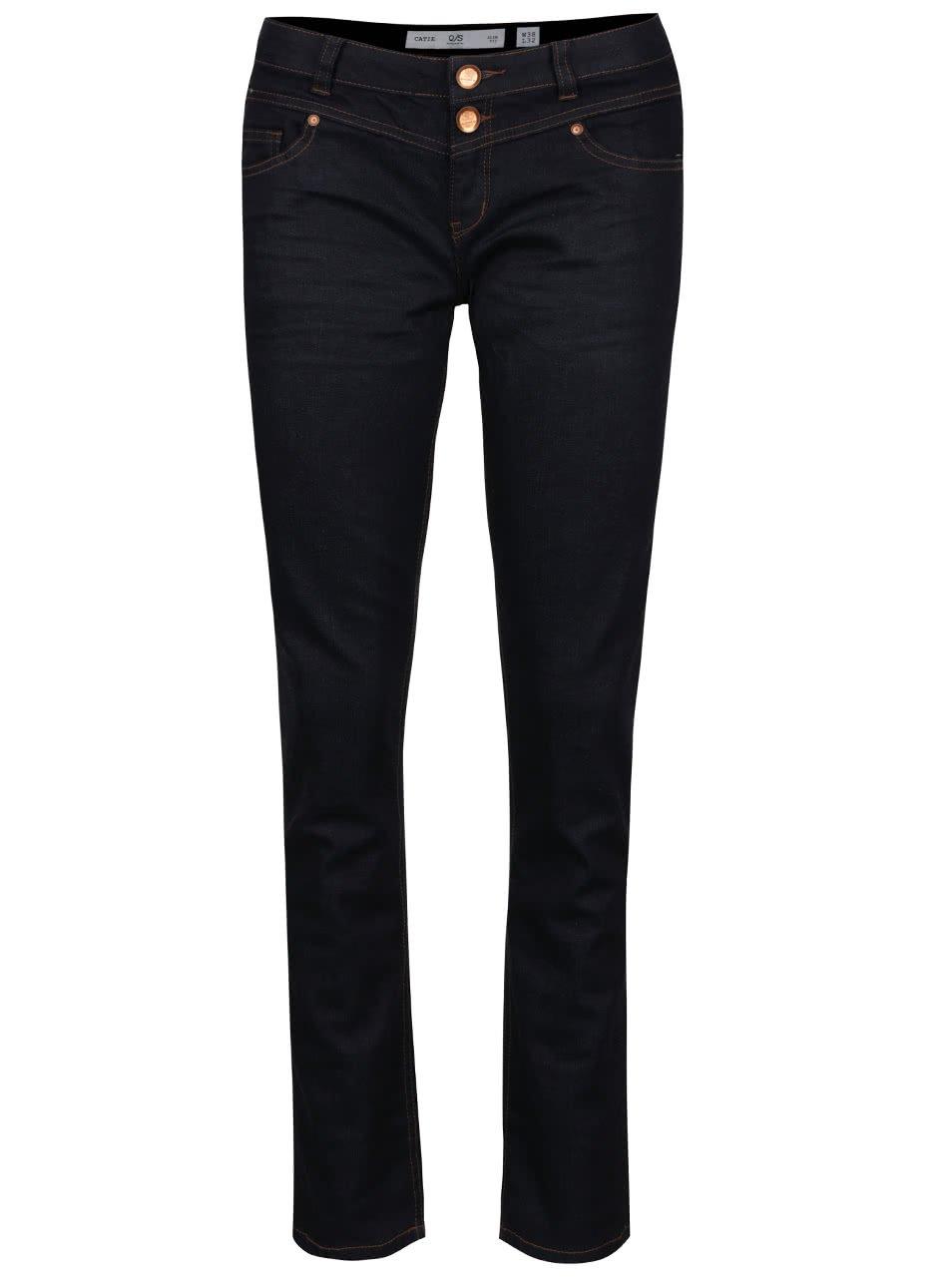 Tmavě modré dámské džíny QS by s. Oliver
