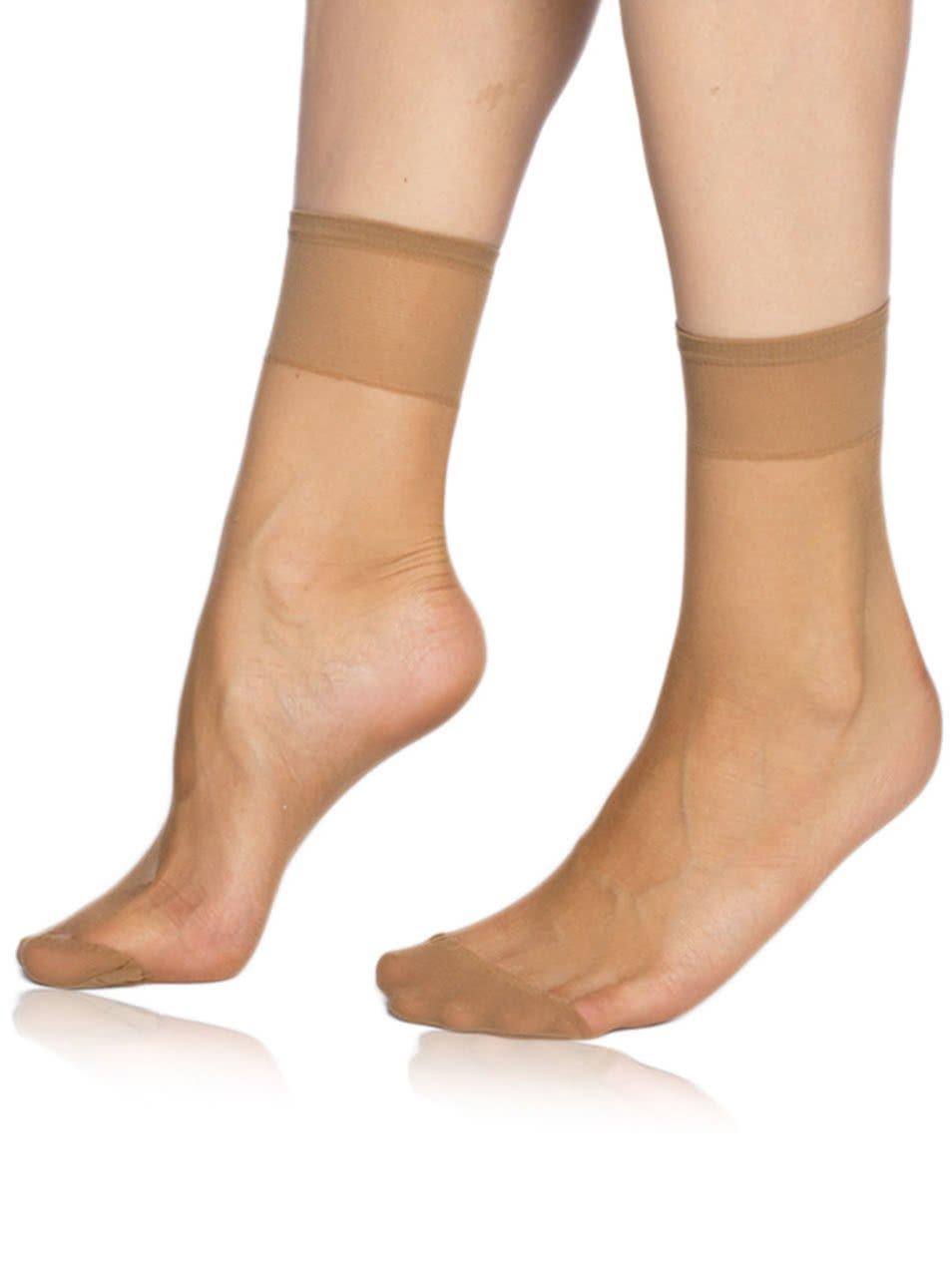 Tělové silonkové ponožky Bellinda Fly 15 DEN