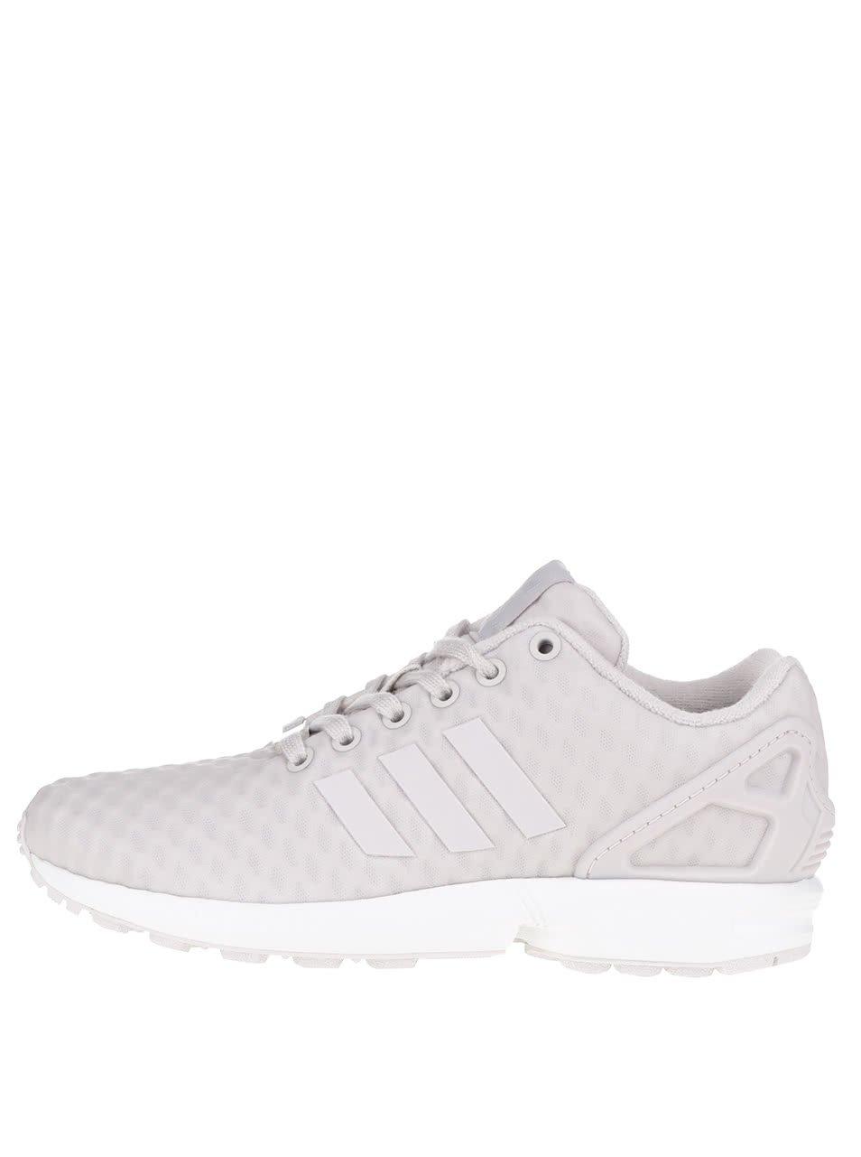 Krémové dámské tenisky adidas Originals Flux