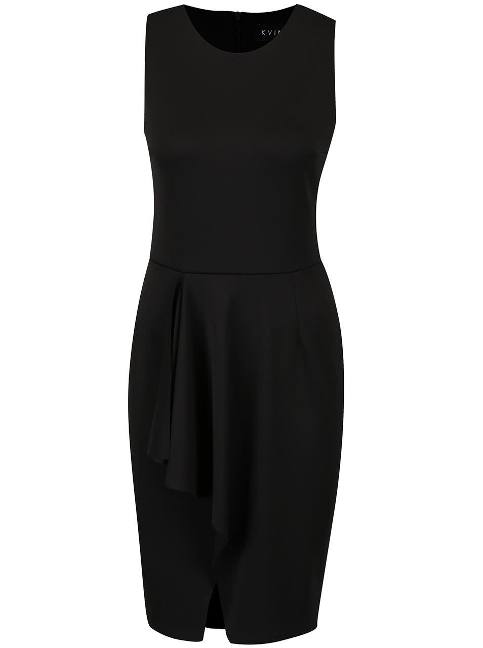 Černé šaty Kvinna Ladylike