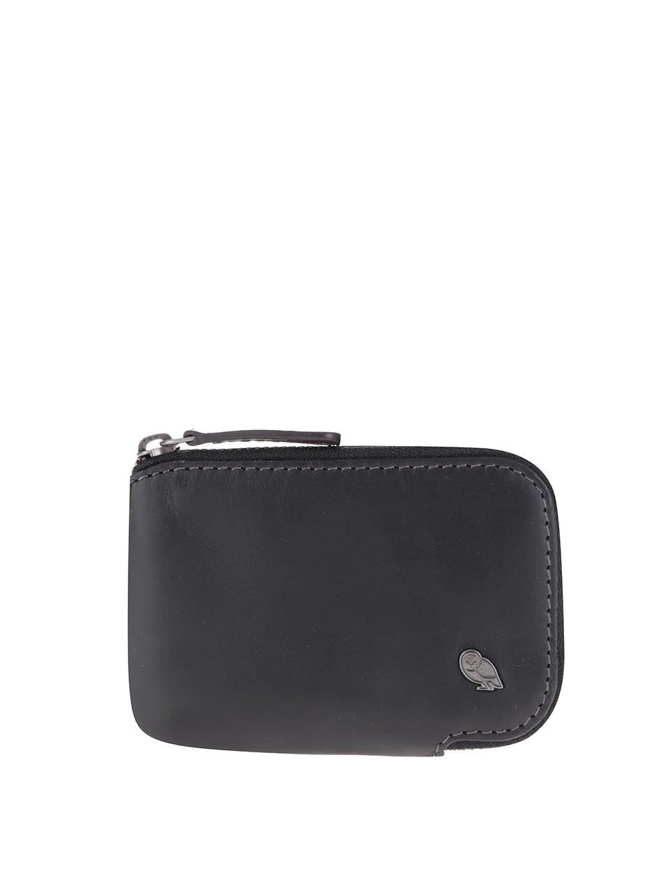 Černé kožené pouzdro na karty Bellroy Card Pocket