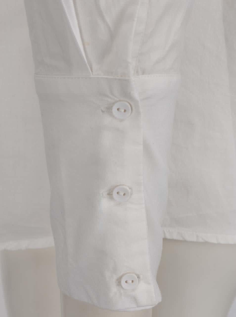 e01da24a65a ... Krémová košile s vzorovanou kapsou VERO MODA Dina