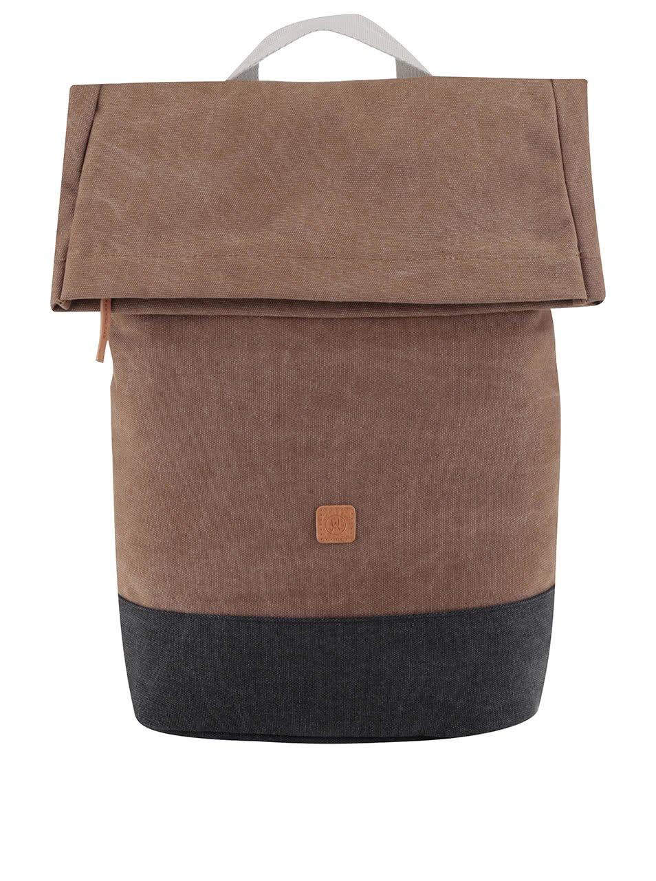 Šedo-hnědý batoh Ucon Karlo Waterproof 20 l