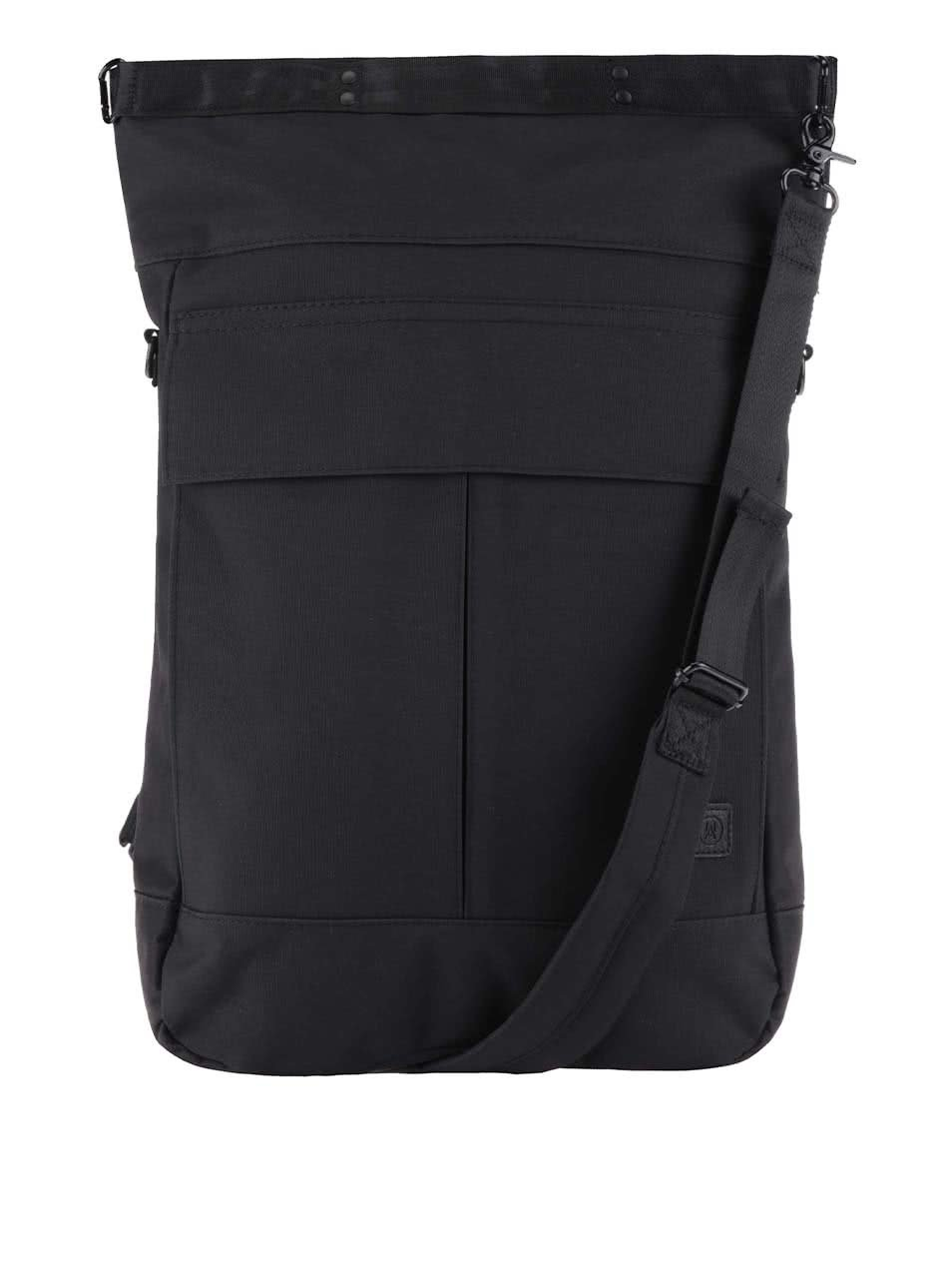 Černý batoh / taška přes rameno Ucon Declan Waterproof 18 l