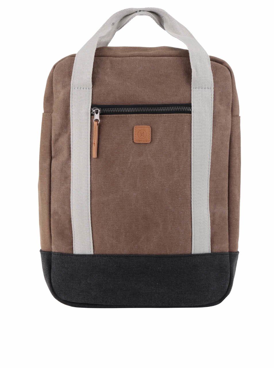Krémovo-hnědý batoh Ucon Ison Waterproof 16 l