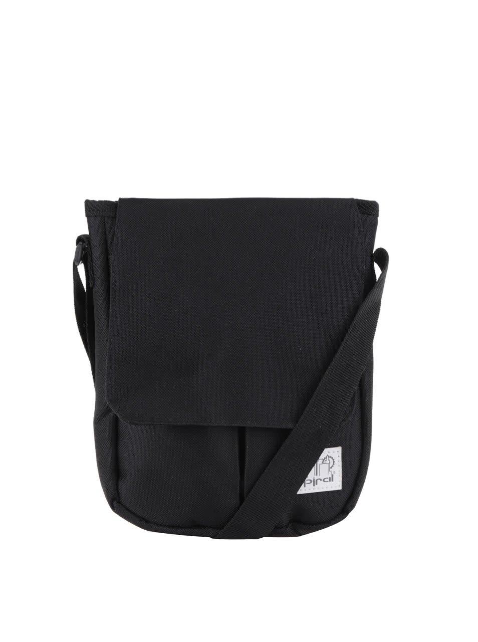 Černá pánská taška přes rameno Spiral Stanford