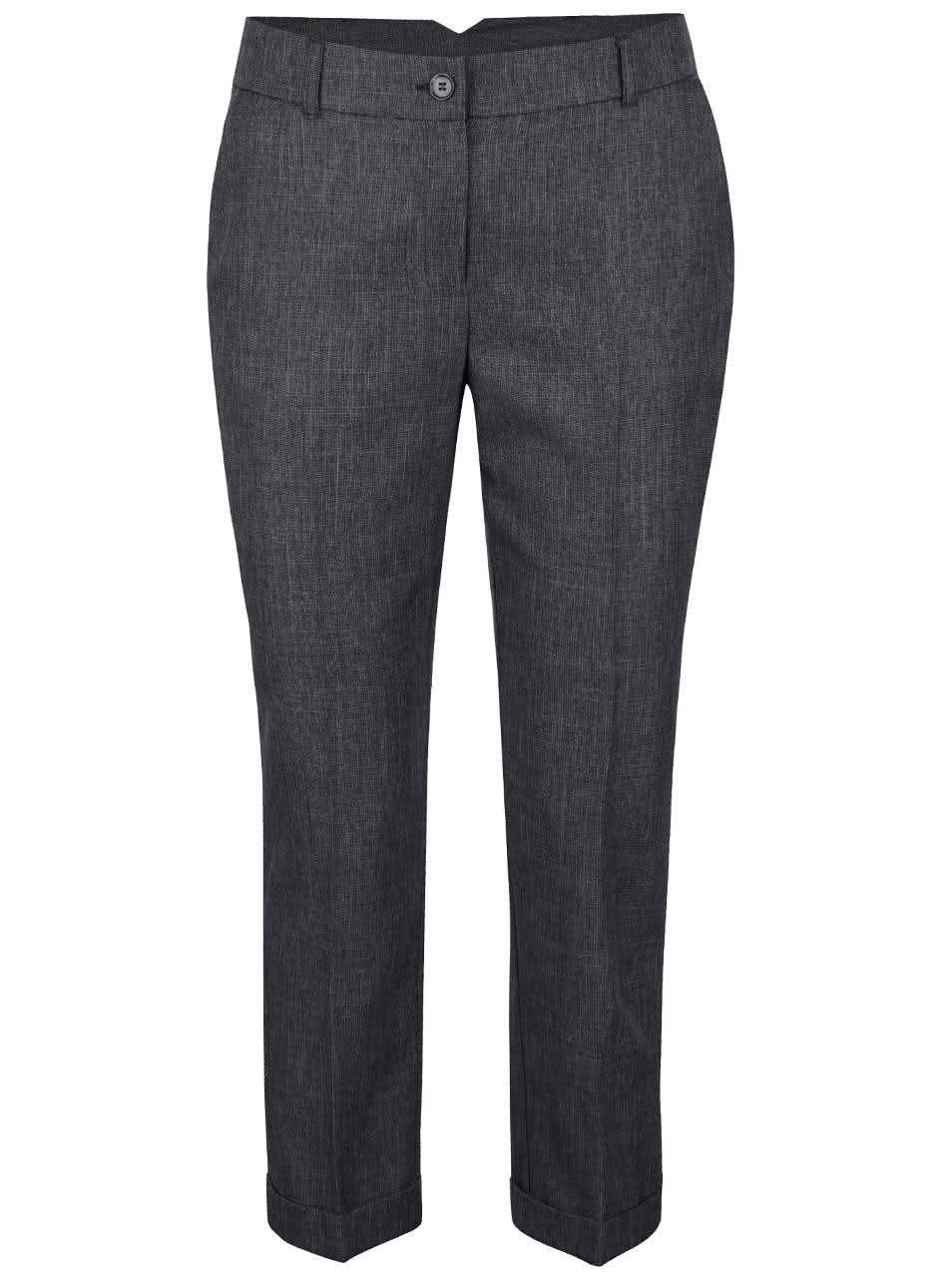 Šedé formální kalhoty Dorothy Perkins