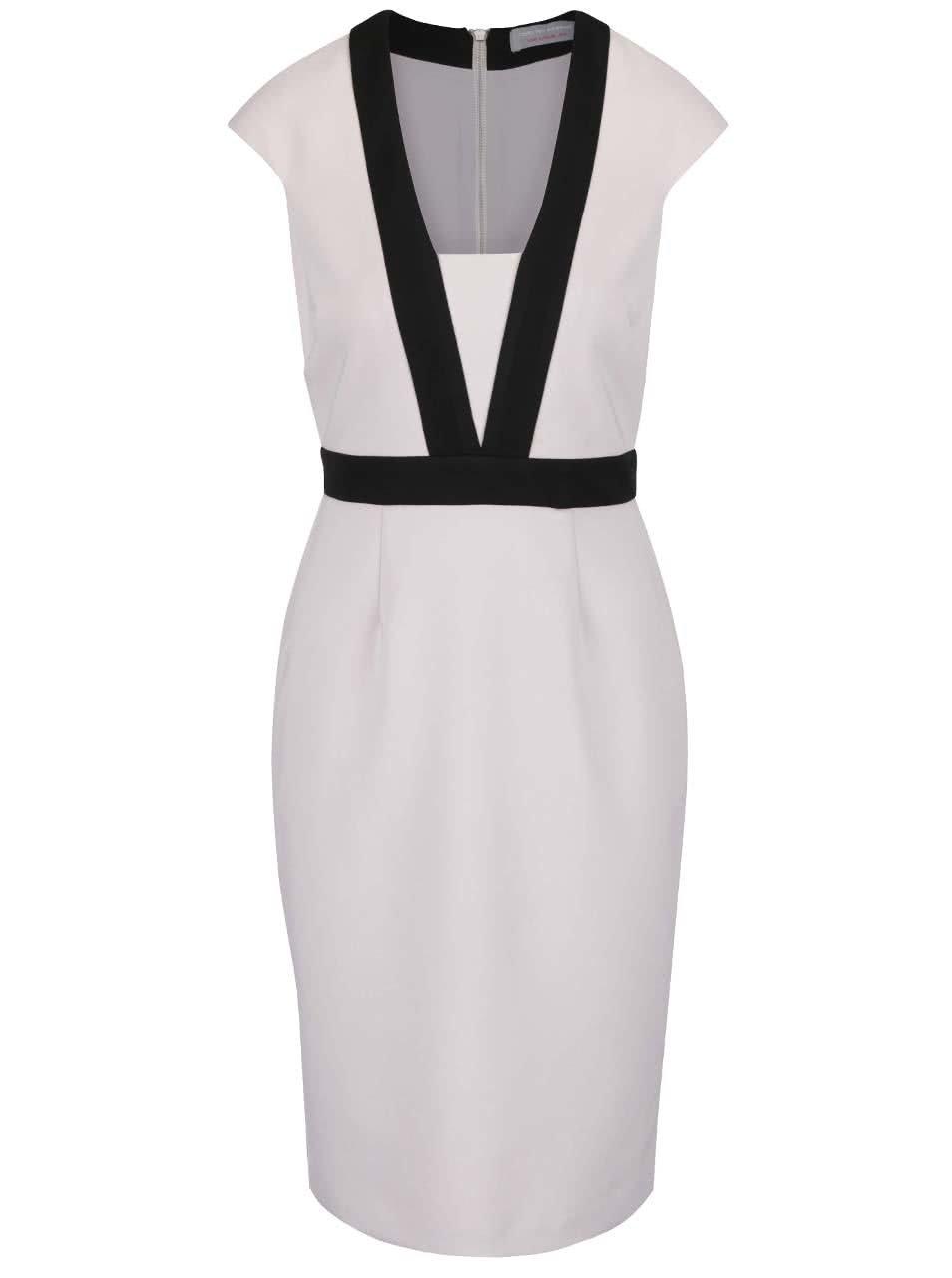 Světle šedé pouzdrové šaty Dorothy Perkins Petite - Akční cena ... 0f35b4c5c5