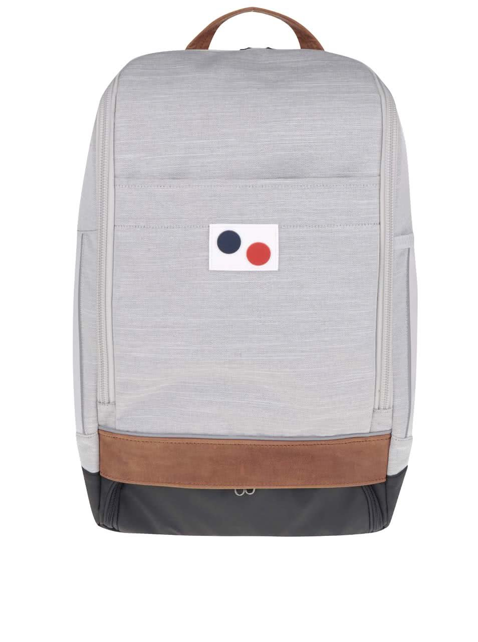 Černo-šedý unisex batoh Pinqponq Cubik Large 22 l