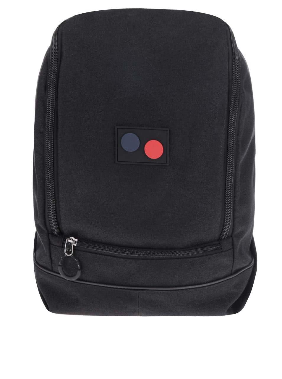 Černý unisex batoh pinqponq Okay Mini 11 l