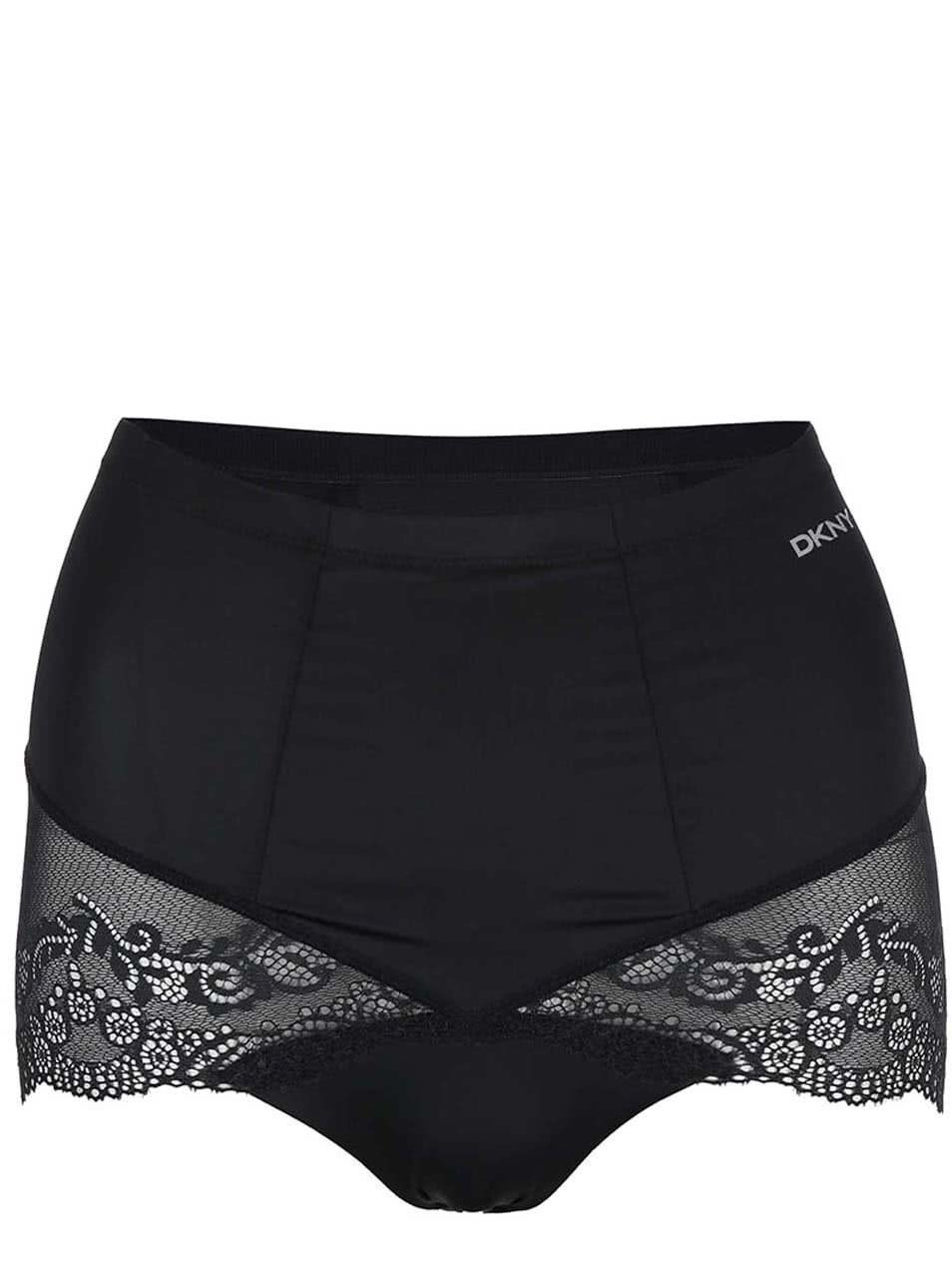 Černé stahovací kalhotky DKNY
