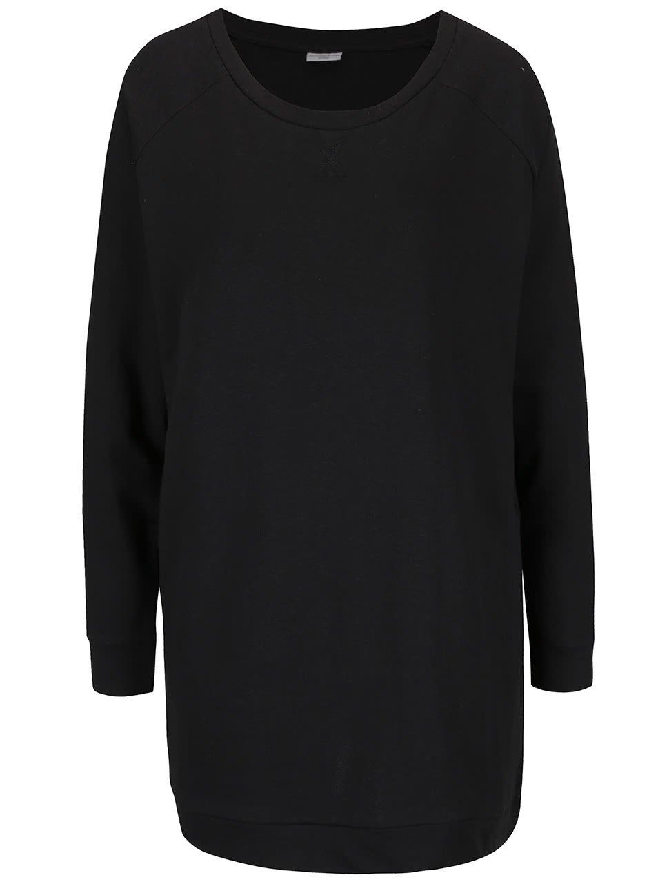 Černá dlouhá mikina Jacqueline de Yong Lexus