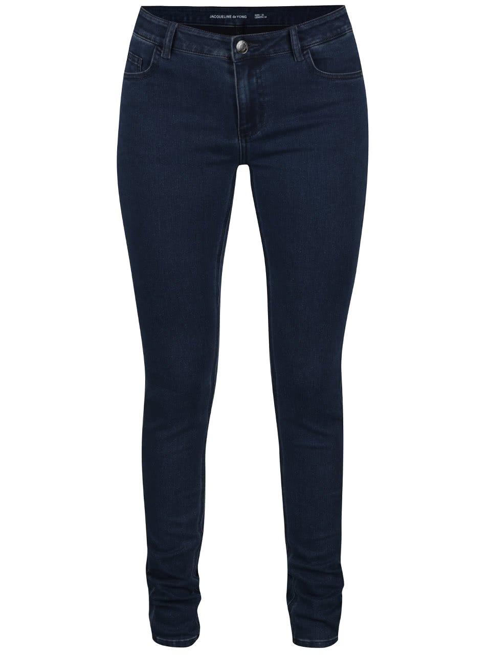 Tmavě modré džíny Jacqueline de Yong Low Holly