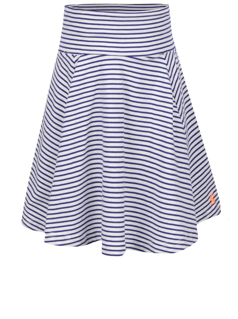 Modro-krémová holčičí sukně Tom Joule